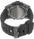 Nixon Men's Unit Tide A282000 Black Silicone Quartz Watch - Back Image Swatch
