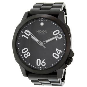 Nixon Men's Ranger 45 A521001 Black Stainless-Steel Quartz Watch