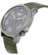 Nixon Men's Ranger 45 A5142072 Green Nylon Quartz Watch - Side Image Swatch