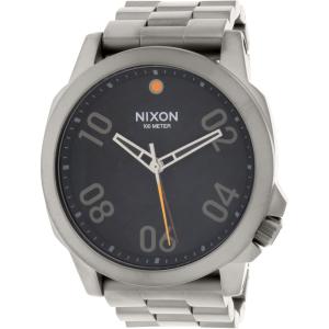 Nixon Men's Ranger 45 A5211531 Grey Stainless-Steel Quartz Watch