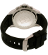 Tommy Hilfiger Men's 1791143 Black Silicone Quartz Watch - Back Image Swatch