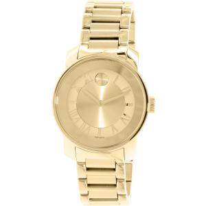 Movado Women's Bold 3600323 Gold Stainless-Steel Swiss Quartz Watch