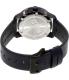 Movado Men's Bold 3600317 Navy Leather Swiss Quartz Watch - Back Image Swatch