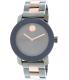 Movado Women's Bold 3600327 Gunmetal Stainless-Steel Swiss Quartz Watch - Main Image Swatch
