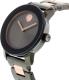 Movado Women's Bold 3600327 Gunmetal Stainless-Steel Swiss Quartz Watch - Side Image Swatch