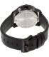 Movado Men's Bold 3600300 Black Leather Swiss Quartz Watch - Back Image Swatch
