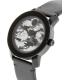 Movado Men's Bold 3600300 Black Leather Swiss Quartz Watch - Side Image Swatch