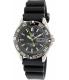 Seiko Men's SNZB23J2 Black Rubber Automatic Watch - Main Image Swatch
