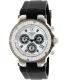 Mulco Women's Bluemarine MW3-70602S-021 Black Silicone Swiss Chronograph Watch - Main Image Swatch
