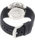 Mulco Women's Bluemarine MW3-70602S-021 Black Silicone Swiss Chronograph Watch - Back Image Swatch