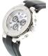 Mulco Women's Bluemarine MW3-70602S-021 Black Silicone Swiss Chronograph Watch - Side Image Swatch