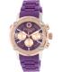 Mulco Women's MW2-28049-056 Purple Silicone Swiss Multifunction Watch - Main Image Swatch