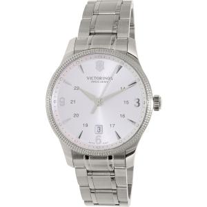 Victorinox Swiss Army Men's Alliance 241712.1 Silver Stainless-Steel Swiss Quartz Watch