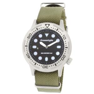 Freestyle Men's Ballistic 10019173 Green Nylon Quartz Watch
