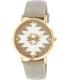 Geneva Platinum Women's 9722.TAN.STAR Gold Metal Quartz Watch - Main Image Swatch