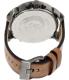 Diesel Men's Mr. Daddy DZ7332 Brown Leather Quartz Watch - Back Image Swatch