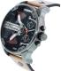 Diesel Men's Mr. Daddy DZ7332 Brown Leather Quartz Watch - Side Image Swatch