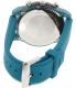 Emporio Armani Men's Luigi AR1062 Blue Silicone Quartz Watch - Back Image Swatch