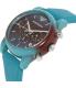 Emporio Armani Men's Luigi AR1062 Blue Silicone Quartz Watch - Side Image Swatch