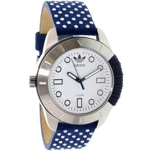 Adidas Women's ADH3054 Blue Leather Quartz Watch
