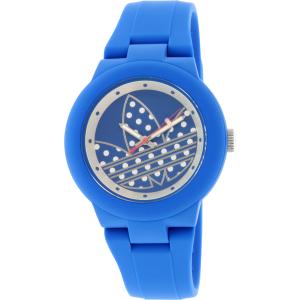 Adidas Women's ADH3049 Blue Silicone Quartz Watch