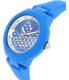 Adidas Women's ADH3049 Blue Silicone Quartz Watch - Side Image Swatch