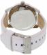 Adidas Men's ADH3055 White Leather Quartz Watch - Back Image Swatch