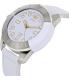 Adidas Men's ADH3055 White Leather Quartz Watch - Side Image Swatch