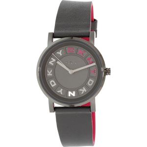 Dkny Women's NY2390 Grey Leather Quartz Watch