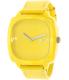 Nixon Women's Shutter A167640 Yellow Leather Quartz Watch - Main Image Swatch