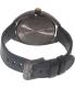 Nixon Women's Wit A3181073 Black Leather Quartz Watch - Back Image Swatch