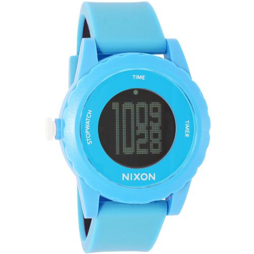 Nixon Women's Genie A326917 Blue Silicone Quartz Watch