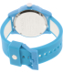 Nixon Women's Genie A326917 Blue Silicone Quartz Watch - Back Image Swatch