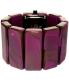 Nixon Women's Vega A726643 Purple Plastic Quartz Watch - Back Image Swatch