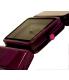 Nixon Women's Vega A726643 Purple Plastic Quartz Watch - Side Image Swatch