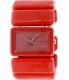Nixon Women's Vega A726200 Red Plastic Quartz Watch - Main Image Swatch