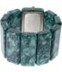 Nixon Women's Vega A7261054 Green Plastic Quartz Watch - Back Image Swatch
