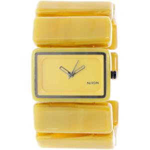 Nixon Women's Vega A726640 Yellow Plastic Quartz Watch