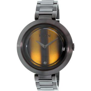 Nixon Women's Optique A2641073 Black Stainless-Steel Quartz Watch