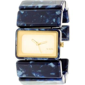 Nixon Women's Vega A7261047 Blue Plastic Quartz Watch
