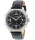 Nixon Men's Falcon A196000 Black Leather Quartz Watch - Main Image Swatch