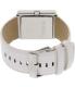 Nixon Women's Portrait A304370 White Leather Quartz Watch - Back Image Swatch