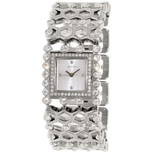 Guess Women's U0574L1 Silver Stainless-Steel Quartz Watch