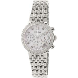 Bulova Women's 96R204 Silver Stainless-Steel Quartz Watch