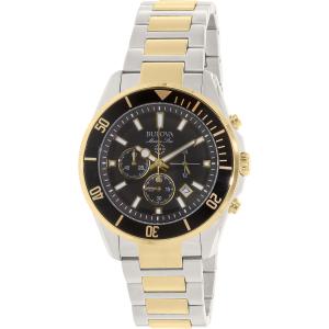 Bulova Men's 98B249 Silver Stainless-Steel Quartz Watch