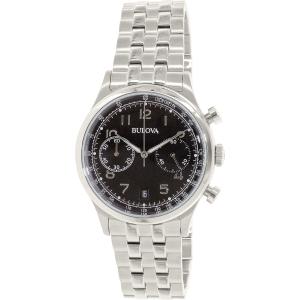 Bulova Men's 96B234 Silver Stainless-Steel Analog Quartz Watch