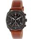 Bulova Men's 98B245 Brown Leather Quartz Watch - Main Image Swatch