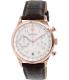 Bulova Men's 97B148 Brown Leather Quartz Watch - Main Image Swatch