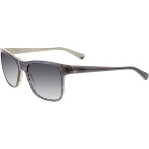 Emporio Armani Men's  EA4002-50628G-55 Grey Square Sunglasses