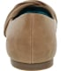 Blowfish Women's Nutty Ankle-High Leather Flat Shoe - Back Image Swatch
